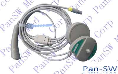 compatible fetal transducer