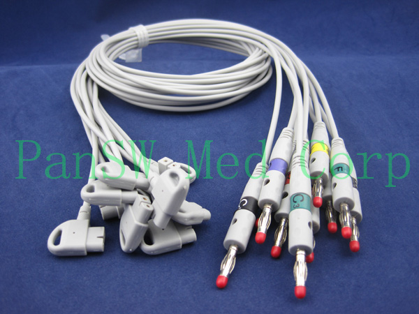Philips TRIM ECG leads
