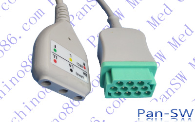 GE neonate monitoring ecg trunk cable