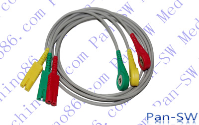 LL three lead ECG leadwire